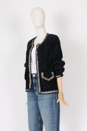 Maglia a giacca modello Chanel