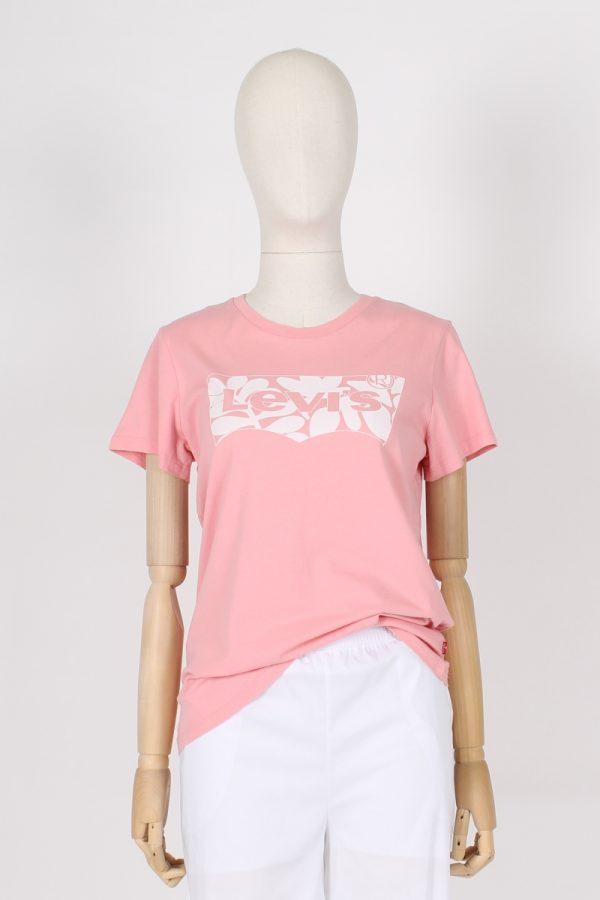 T shirt logo floreale Levi's