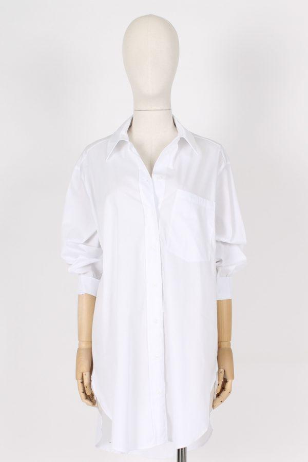 Camicia lunga con taschino Madrilena