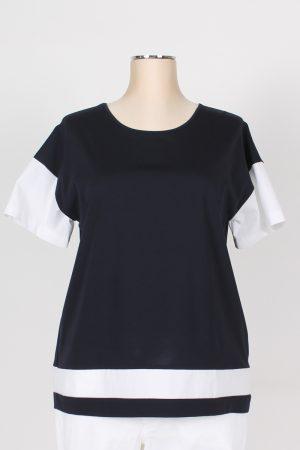 T shirt mezza manica in cotone Kiara