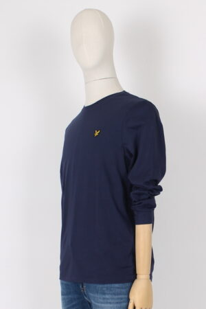 T shirt manica lunga cotone