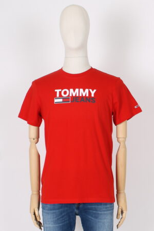 T shirt logo classico Tommy