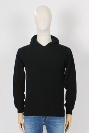 Maglia in lana con cappuccio