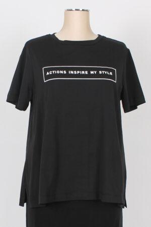 T shirt curvy